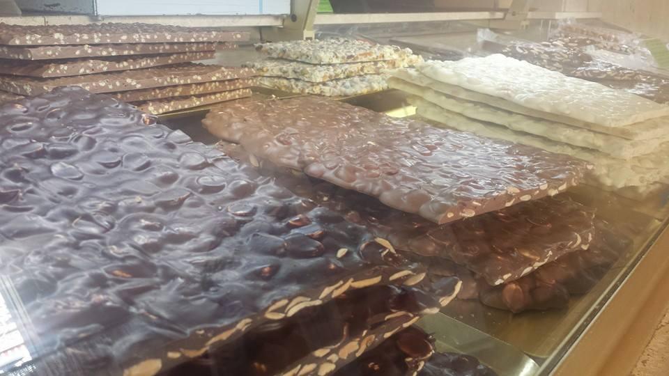 turron de chocolate - Turrones Apolonia